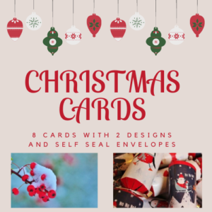 Christmas Cards – Pack of 8